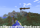 Minecraft Seed stronghold | Floating Island image