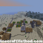 Minecraft Seed ice for 1.0.0 | large npc village in desert biome