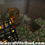 Minecraft 1.0.0 | Minecraft Dungeon | Diamonds in background