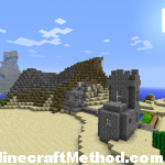 NPC building in desert biome | 1.0.0 minecraft seeds