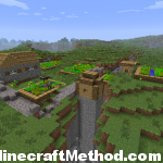 Minecraft Seeds 1.0.0 | ice | Village in crevice