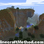 [Minecraft Seeds 1.0.0] The Swan | Large Mountain with Lava