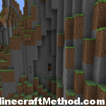 Minecraft Seeds 1.0.0 [Dungeon in the side of the mountain]