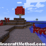 New mushroom biome seed for 1.0.0 [minecraft seeds]