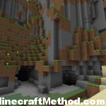 Minecraft Seeds 1.0.0 | Double cave entrance in mountainside