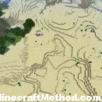 Minecraft Seeds 1.0 | Overview of dungeons and village