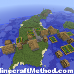Minecraft 1.0.0 Seed | -245672124 | Floating Village