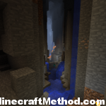 Minecraft Seed 1.0.0 | ice | cave crevice