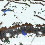 Minecraft Seeds | destroy | crevice in snow biome