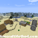 Minecraft Seeds | EARTH seed | NPC Village
