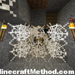 Minecraft Seeds 1.0.0 | Spider Spawner with Spider Webs