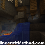 Minecraft Seeds for 1.0.0 | The Swan | Fortress with Lava and Water