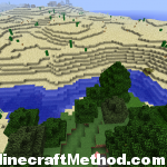 Minecraft Seeds | npc village and entrance to fortress