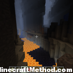 minecraft seeds 1.0.0 | destroy | lava chasm