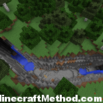 [1.0.0 Minecraft Seeds] The Swan | Large Crevice with Fortress