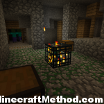 [Minecraft Seed 1.0.0] [-245672124][dungeon in abondoned mineshaft]