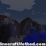 Minecraft Seed | ice | Mountains at dusk