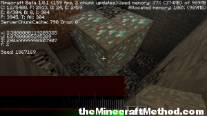 Minecraft Seeds List | Diamond Ore Location