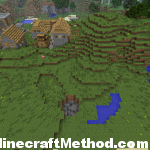 [Minecraft Seeds] Nandemo Village with Cave