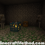 Minecraft Seeds [Nandemo] Dungeon with Chest