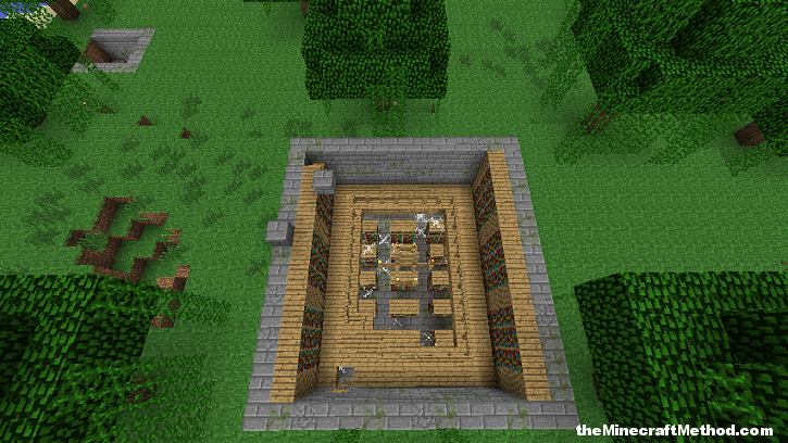 Good Minecraft Seeds for PC, Library and Stronghold