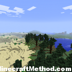 Minecraft Seeds | Minecraft Desert meeting Minecraft Forest