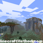 [Minecraft Seeds] Minecraft Seed pokeylucky | Floating Mountain Range
