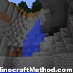 [Minecraft Seeds] Minecraft Seed pokeylucky | Waterfall in Cave