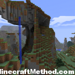 [Minecraft Seeds] Minecraft Seed pokeylucky | Cool Waterfall from Mountain