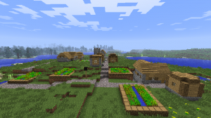 Minecraft Seeds | Minecraft Village | Minecraft NPC Village