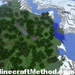 Minecraft Seeds | 959338177 | Snow biome with ravine