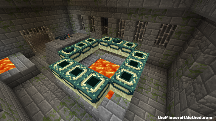where is the end portal in the stronghold
