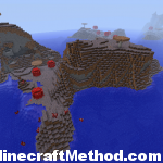 [Minecraft 1.0.0 Seeds] | 311463682 | Mushroom Biome Overview