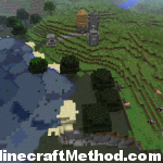 Minecraft Seeds | -1986406786 | Village with entrance to mineshaft