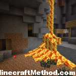 Minecraft Seeds 1.0.0 | 10082011 | Lavafall in ravine