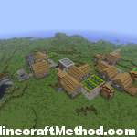 Minecraft Seeds | -74721468 | NPC Village