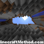 1.0.0 Minecraft Seeds | aquaman | Top view from base of ravine