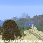 Minecraft Seeds | Disneyland | Mountains and desert biome