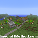 Minecraft 1.0.0 Seeds | Waterworld | NPC Village