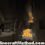 1.1 Minecraft Seeds| supermanreturns! | lavafall in underground ravine