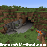 1.1 Minecraft Seeds | cave entrance