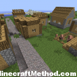 Minecraft 1.2.3 Seeds | NPC Village with Villagers