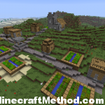 1.2.3 Minecraft Seeds | NPC Village | 1.2.3abc