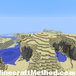 1.2.3 minecraft seeds | hilly desert biome | 1.2.3abc