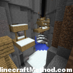 minecraft seed 1.2.3 | worstseedever | ravine and mineshaft