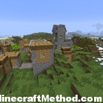 Minecraft Seeds 1.2 | Blade Runner | NPC village