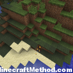 Minecraft Seeds 1.2.3 | Blade Runner | Stronghold Location marked by torches
