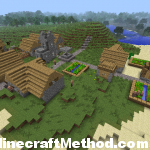 Minecraft Seeds 1.2.3 | hellamadmen | NPC Village