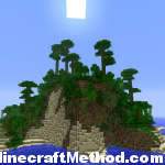 Minecraft 1.2.3 Seeds | Artomix | Island view