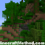 1.2.3 Minecraft Seeds | Artomix | Side view into cave